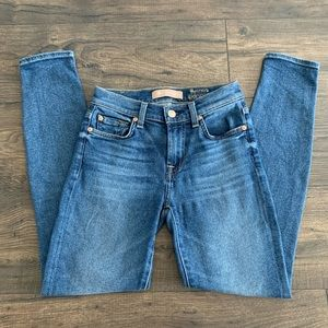 7 For All Man Kind Luxe Vintage Ankle Skinny sz 24